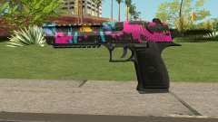 Neon Destroyer Deagle for GTA San Andreas