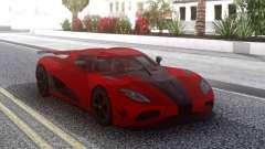 Koenigsegg Agera R Red for GTA San Andreas