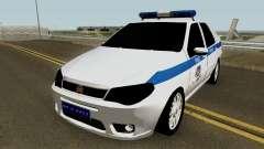 Fiat Albea Turkish Police UnBug for GTA San Andreas