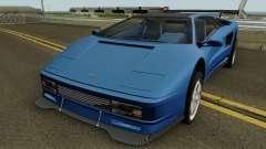 Lamborghini Diablo VT 6.0 (Infernus Style) 1990 for GTA San Andreas