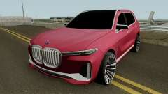 BMW X7 2017 HQ for GTA San Andreas