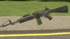 Bad Company 2 Vietnam Stoner 63A for GTA San Andreas