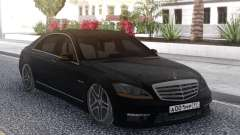 Mercedes-Benz W221 S65 AMG for GTA San Andreas
