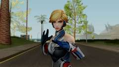 MFF Sharon Rogers (Starlight Armor) for GTA San Andreas