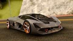 Lamborghini Terzo Millennio 2017 Concept for GTA San Andreas