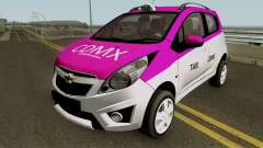 Chevrolet Spark TAXI CDMX for GTA San Andreas