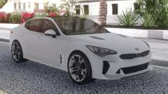 Kia Stinger White for GTA San Andreas
