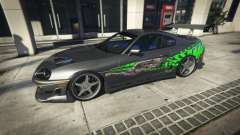 Toyota Supra 1994 Sport for GTA 5