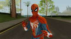 Spider-Man PS4 Standart Skin for GTA San Andreas