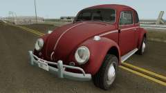 Volkswagen Beetle Deluxe 1300 (Non-ragtop) 1963