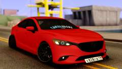 Mazda 6 Red Sport for GTA San Andreas