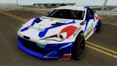 Subaru BR2Z HGMP Racing Team for GTA San Andreas
