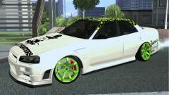 Nissan Skyline ER34 Custom for GTA San Andreas