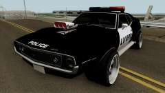 AMC Javelin AMX 401 Police LVPD 1971 V2 for GTA San Andreas