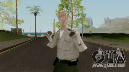 Hand Police (LQ) for GTA San Andreas
