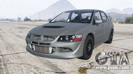 Mitsubishi Lancer Evolution VIII MR 2004 for GTA 5
