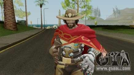 Skin Mc Cree Pack (Overwatch) for GTA San Andreas