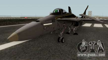 FA-18C Hornet VFA-25 AA-400 for GTA San Andreas