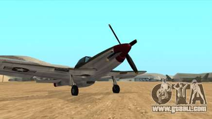 Rustler - P51 Mustang for GTA San Andreas