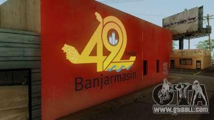 492 Anniversary Of Banjarmasin City Wall for GTA San Andreas