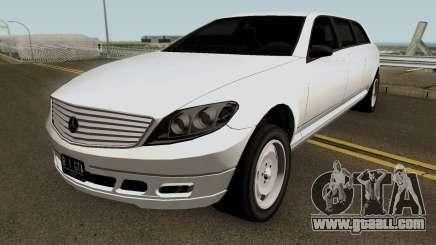 Mercedes Benz E-Class W212 Limousine 2012 v1.2 for GTA San Andreas