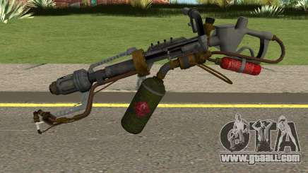 New Flamethrower HQ for GTA San Andreas