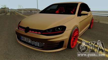 Volkswagen Golf 7 GTI SlowDesign for GTA San Andreas