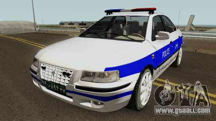 IKCO Samand Police LX v3 for GTA San Andreas