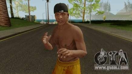 Skin Franklin V1 GTA V for GTA San Andreas