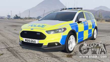 Ford Mondeo Estate 2014 Police Dog Section for GTA 5