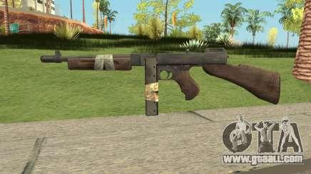 Bad Company 2 Vietnam Thompson M1928 for GTA San Andreas