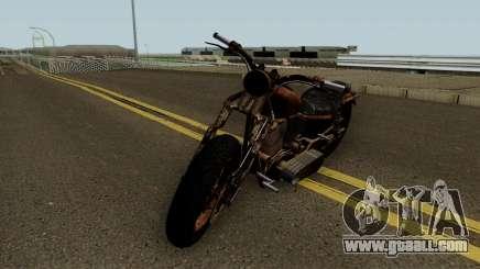 Western Motorcycle Rat Bike GTA V for GTA San Andreas