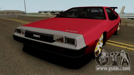 DMC DeLorean 12 Tuning V.1 for GTA San Andreas