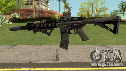 M4 from MOH:W for GTA San Andreas