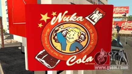 Nuka Cola Billboards for GTA San Andreas