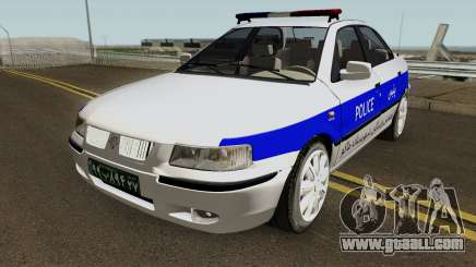 IKCO Samand Police LX-v2 for GTA San Andreas