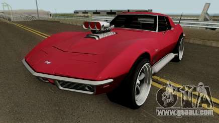 Chevrolet Corvette C3 Stingray HQ for GTA San Andreas