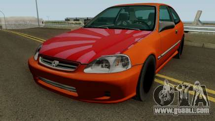 Honda Civic EK9 Low Poly for GTA San Andreas
