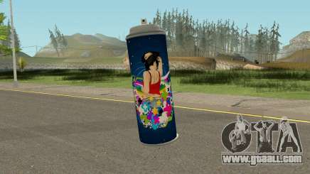 New Spraycan HQ for GTA San Andreas
