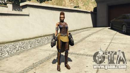 Shuri (Black Panther) for GTA 5