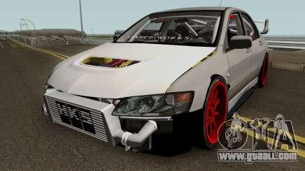 Mitsubishi Evo (DRIFT TUNING) for GTA San Andreas