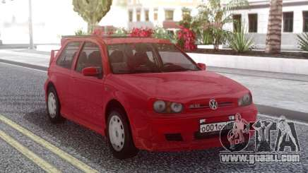 Volkswagen Golf IV Red for GTA San Andreas