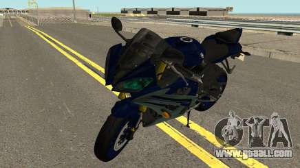 Yamaha YZF R6 2016 for GTA San Andreas