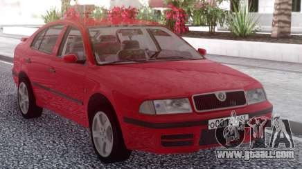 Skoda Octavia Red for GTA San Andreas