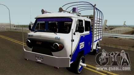 UAZ Fermer Colombiana for GTA San Andreas