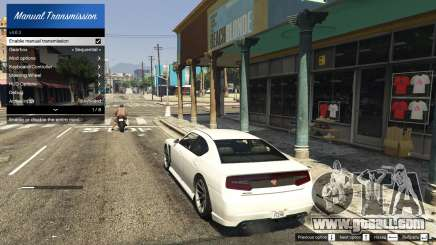 Manual Transmission and Steering Wheel Support for GTA 5