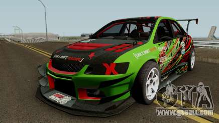 Mitsubishi Lancer Evolution IX OZ Drift V2 2006 for GTA San Andreas