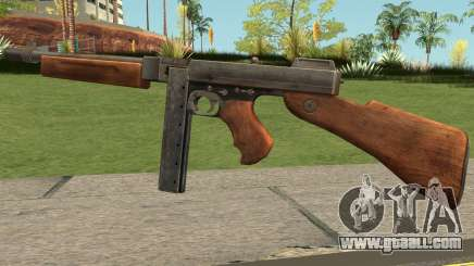 Thompson M1928 SMG for GTA San Andreas