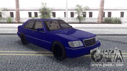 Mercedes-Benz W140 AG for GTA San Andreas