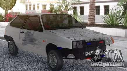 VAZ 2108 Tramp Beaten for GTA San Andreas